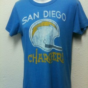 NFL San Diego Chargers Women's XL Top